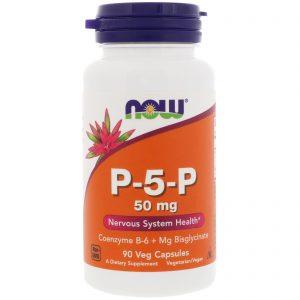 P-5-P, 50 mg, 90 Veg Capsules (Now Foods)