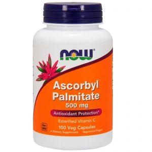 Ascorbyl Palmitate, 500 mg, 100 Veg Capsules (Now Foods)
