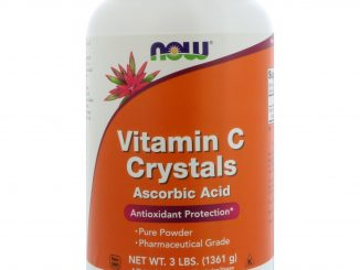 Vitamin C Crystals, 3 lbs (1361 g) (Now Foods)