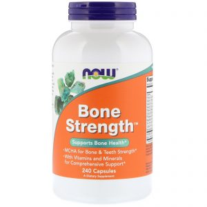 Bone Strength, 240 Capsules (Now Foods)