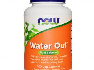 Water Out, Fluid Balance, 100 Veggie Caps (Now Foods)