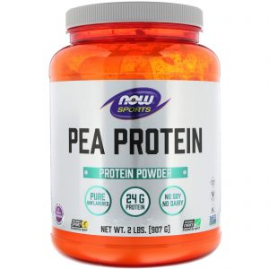 Sports, Pea Protein, Pure Unflavored, 2 lbs (907 g) (Now Foods)