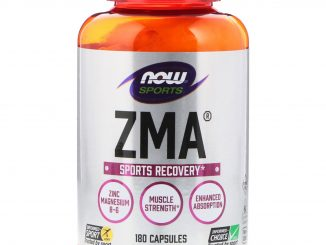 Sports, ZMA, Sports Recovery, 180 Capsules (Now Foods)