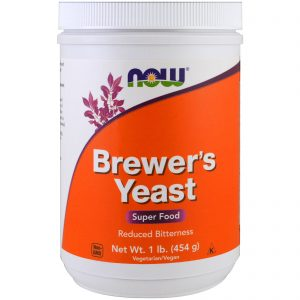 Brewer's Yeast, Super Food, 1 lb (454 g) (Now Foods)