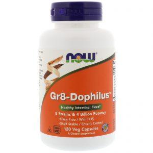 Gr8-Dophilus, 120 Veg Capsules (Now Foods)