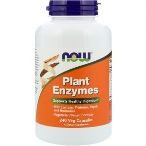 Plant Enzymes, 240 Veg Capsules (Now Foods)