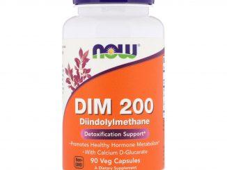 DIM 200, 90 Veg Capsules (Now Foods)