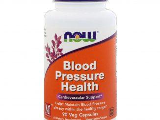 Blood Pressure Health, 90 Veg Capsules (Now Foods)