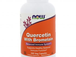 Quercetin with Bromelain, 240 Veg Capsules (Now Foods)
