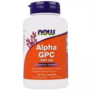 Alpha GPC, 300 mg, 60 Veg Capsules (Now Foods)