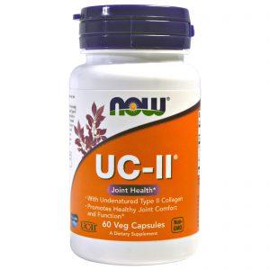 UC-II Joint Health, Undenatured Type II Collagen, 60 Veg Capsules (Now Foods)