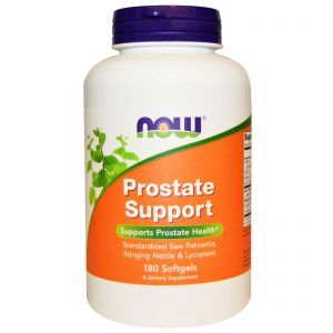 Prostate Support, 180 Softgels (Now Foods)