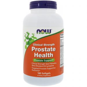 Clinical Strength Prostate Health, 180 Softgels (Now Foods)