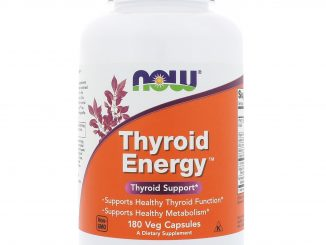 Thyroid Energy, 180 Veg Capsules (Now Foods)