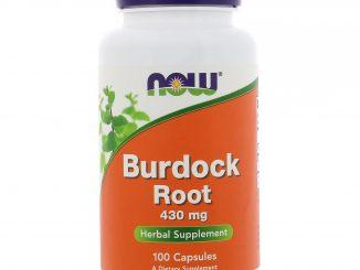 Burdock Root, 430 mg, 100 Capsules (Now Foods)