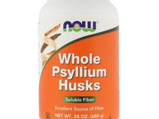 Whole Psyllium Husks, 1.5 lbs (680 g) (Now Foods)