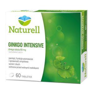 Naturell Gingko Intensive, tabletki, 60 szt. / (Naturell)
