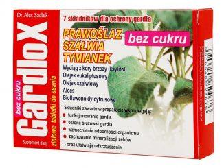 Gardlox, ziołowe tabletki do ssania, bez cukru, 16 szt. / (S-lab)