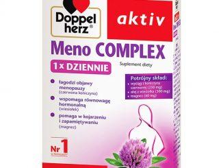 Doppelherz Aktiv Meno COMPLEX 1 x dziennie, tabletki, 30 szt. / (Queisser)