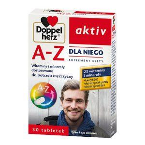 Doppelherz Aktiv A-Z Dla Niego, tabletki, 30 szt. / (Queisser)