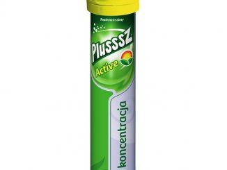 Plusssz Active, tabletki musujące, smak grejpfrutowy, 20 szt. / (Polski Lek)