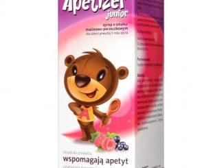 Apetizer Junior (Apetizer), syrop, o smaku malinowo-porzeczkowym, 100 ml / (Aflofarm)