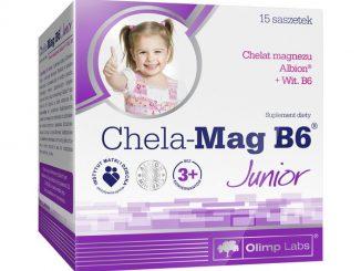 Olimp Chela-Mag B6 Junior, proszek w saszetkach, 15 szt. / (Olimp Laboratories)