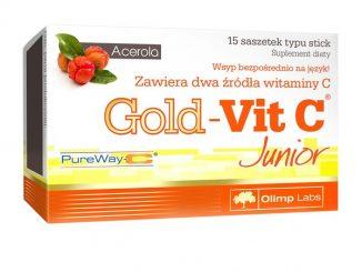 Olimp Gold-Vit C Junior, proszek w saszetkach, 15 szt. / (Olimp Laboratories)