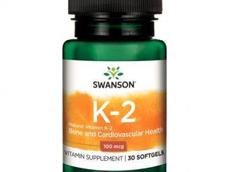 Swanson Witamina K2, 100 µg, kapsułki, 30 szt. / (Swanson)