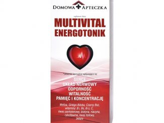 Multivital Energotonik, płyn, 1000 ml / (Domowa Apteczka)