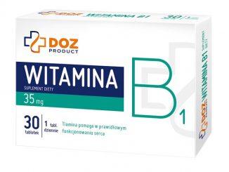 Witamina B1, tabletki powlekane, 30 szt. / (Doz)