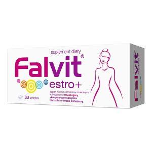 Falvit estro +, tabletki powlekane, 60 szt. / (Jelfa)